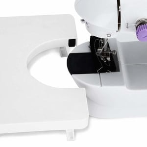 Mini sewing machine extention table