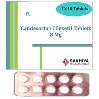 Candesartan Cilexetil 8mg Tablets