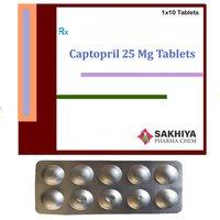 Captopril 25mg Tablets