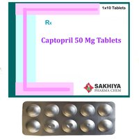 Captopril 50mg Tablets