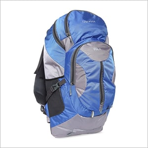 Blue And Grey Rucksack Bags