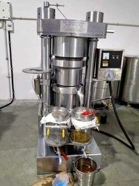 Castor Oil Hydraulic Press Machine