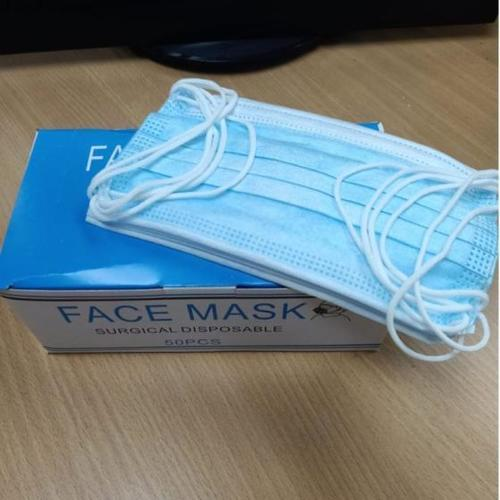 3 Ply Non Woven Face Mask With Earloop