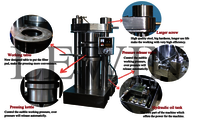 Almond Oil Hydraulic Press Machine
