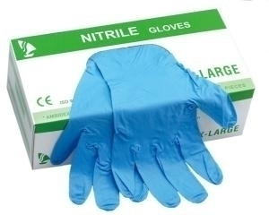 Cheap Disposable Nitrile Gloves Power Free And Latex Gloves For Civil Use