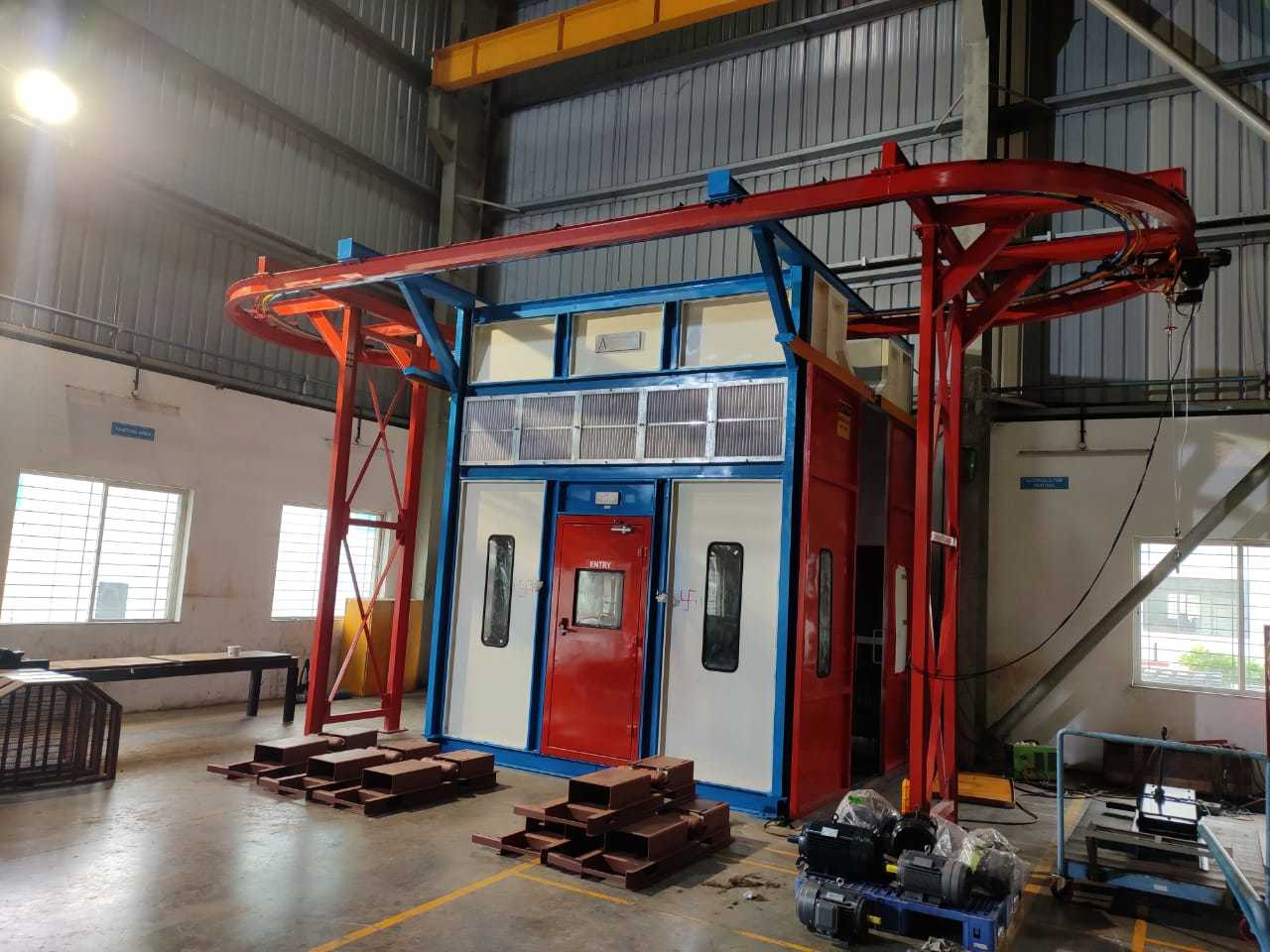 Dry Filter Paint Booth