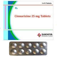 Cinnarizine 25mg Tablets
