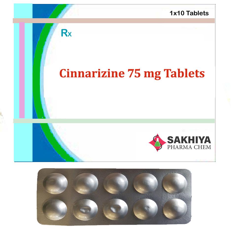 Cinnarizine 75mg Tablets