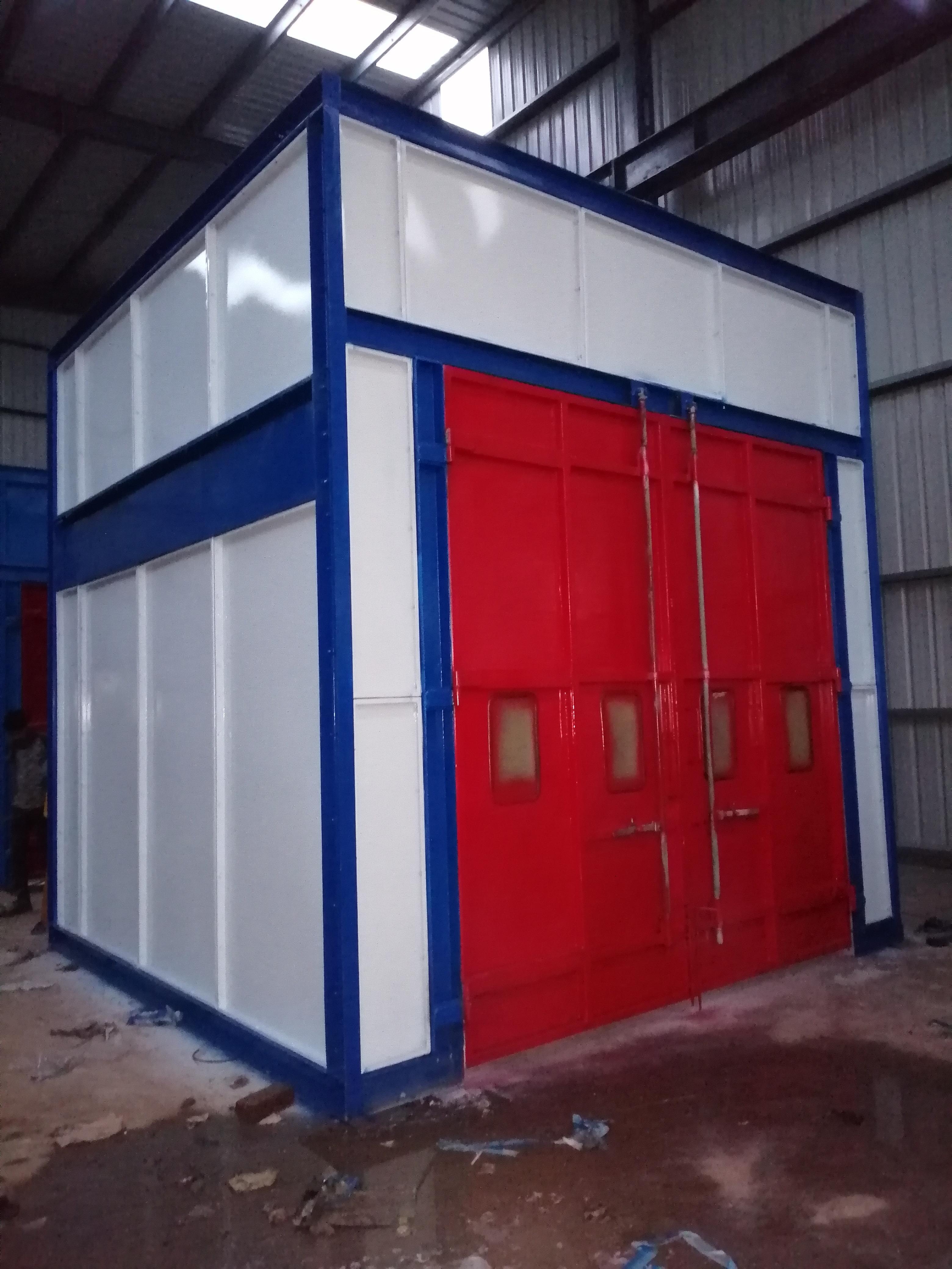 Semi Automatic Liquid Paint Booth