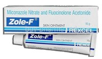 Miconazole + Flucinolone acetonide Ointment