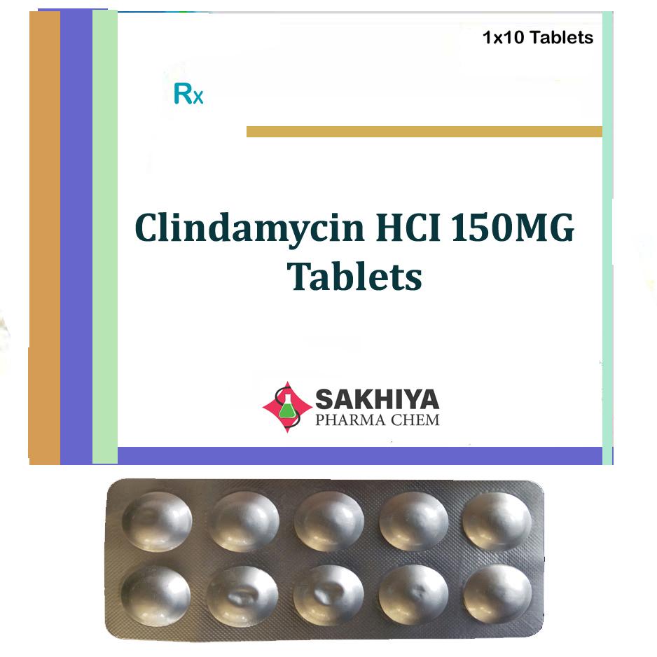 Clindamycin HCI 150mg Tablets