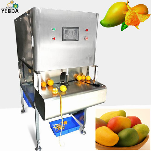 Full automatic mango peeler machine mango coring peeling machine