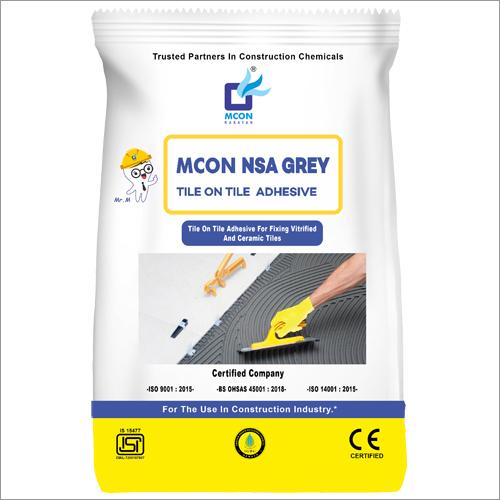 Mcon NSA Grey Tile On Tile Adhesive