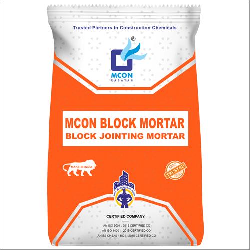 Mcon Block Mortar Black Jointing Mortar