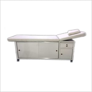 White Spa Bed