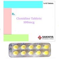 Clonidine 100mcg Tablets