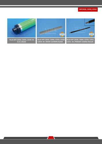 RICOH MP C2030/C2050/C2550 SPARE PARTS
