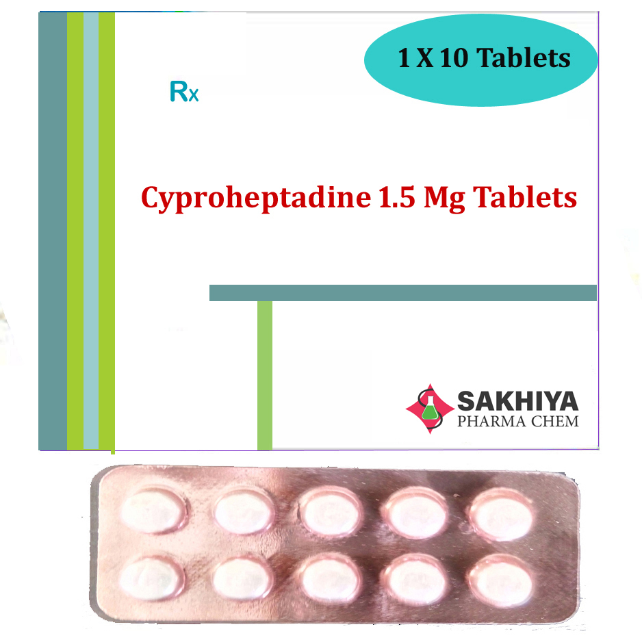 Cyproheptadine 1.5mg Tablets
