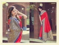 Dolla Silk Party Wear Designer Sarees