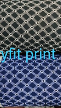 Polyester Dryfit Printed fabric