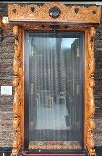 pleated mesh doors
