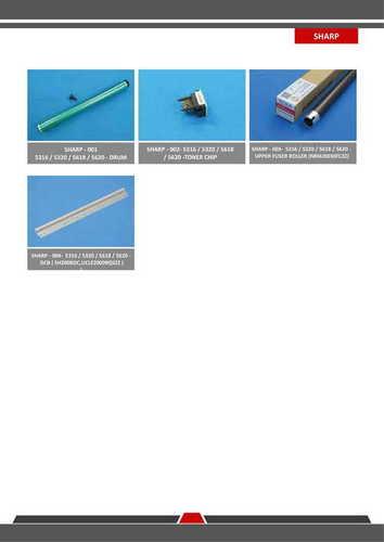 Sharp AR 5316/5318/5320 SPARE PARTS