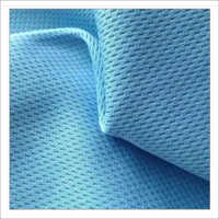 Garments Blue Polyester Fabric