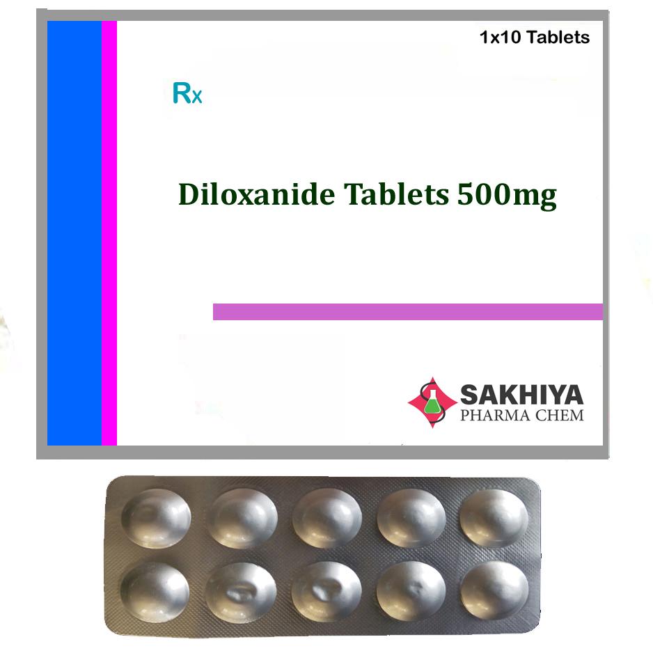Diloxanide 500mg Tablets