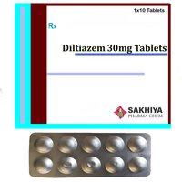 Diltiazem 30mg Tablets
