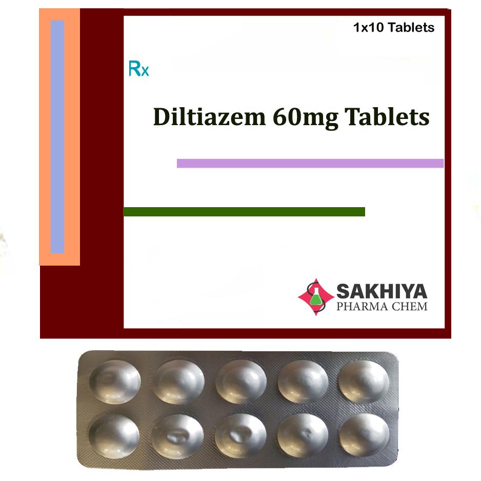 Diltiazem 60mg Tablets