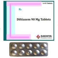 Diltiazem 90mg Tablets
