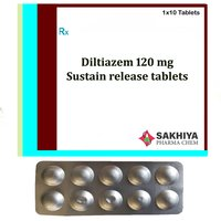 Diltiazem 120mg Sustain Release Tablets