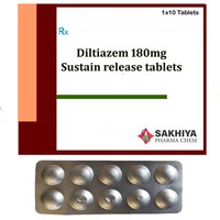 Diltiazem 180mg Sustain Release Tablets