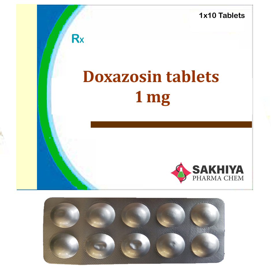 Doxazosin 1mg Tablets