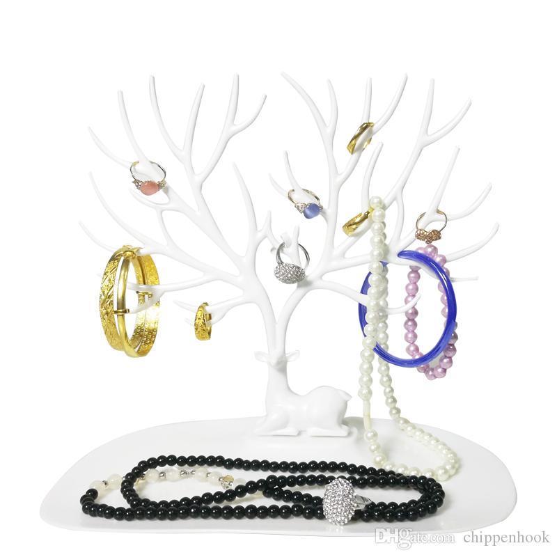 Creative Deer Tree Jewellery Display Holder