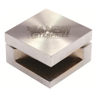 Brass Square Mirror Bracket Fency CD-Cut