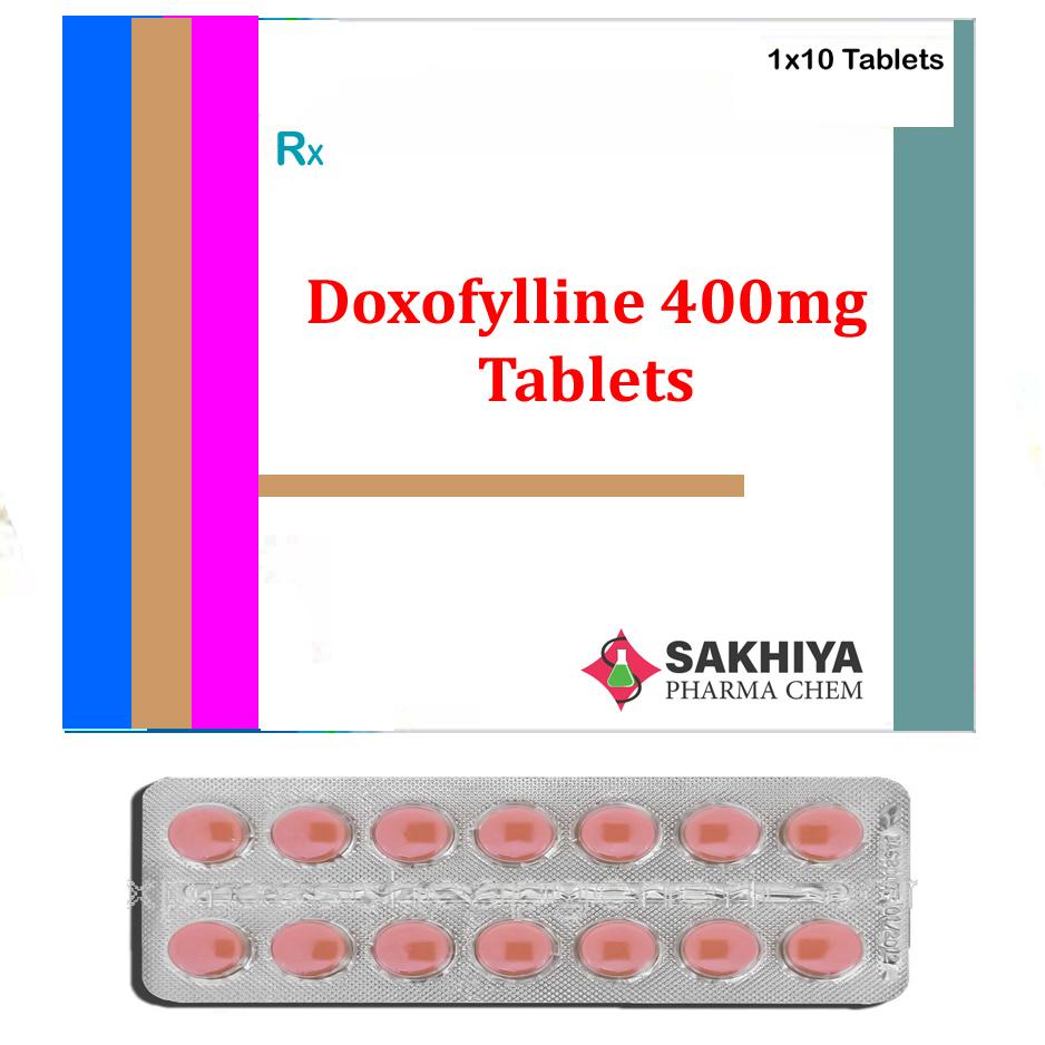 Doxofylline 400mg Tablets
