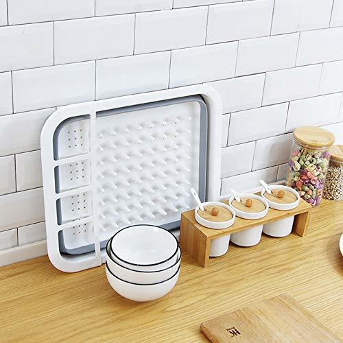 Dish Drain Basket, 5 In 1 Dish Drain Rack