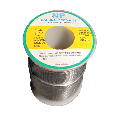 6040 NC 16 SWG Solder Wire