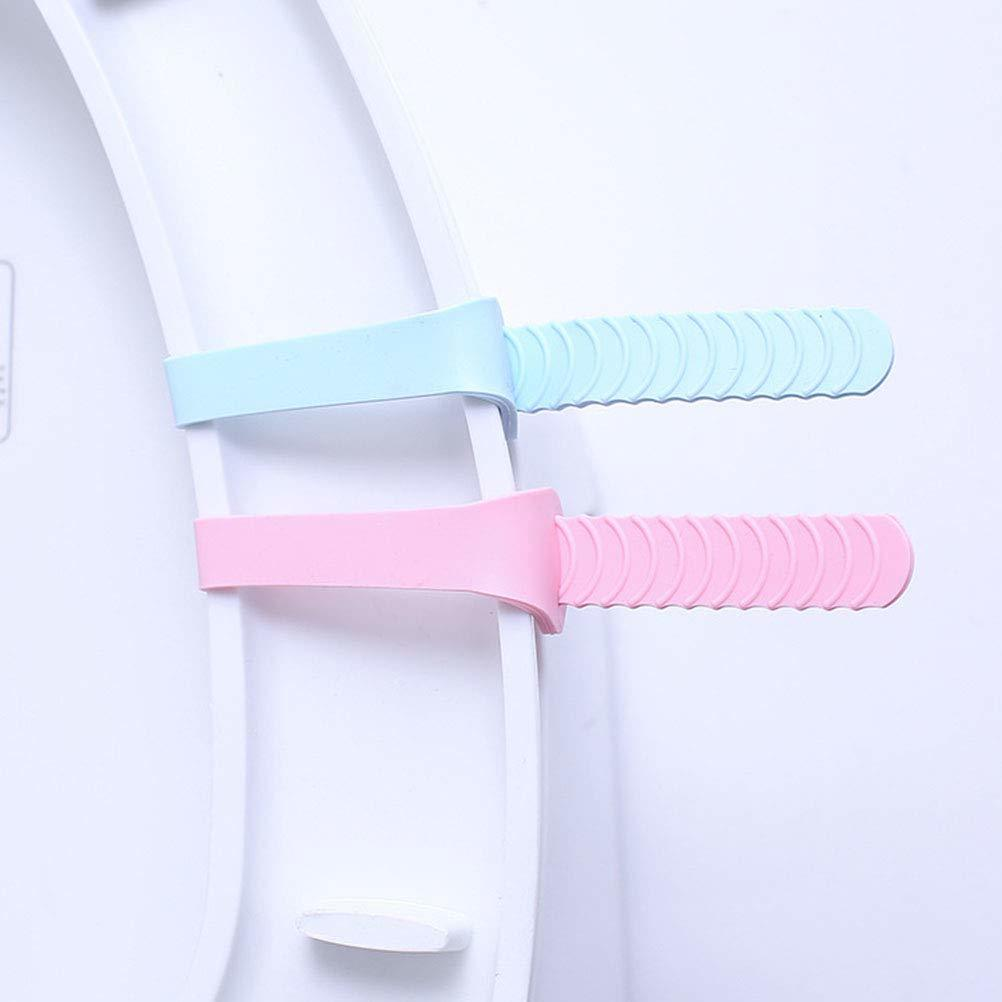 Toilet Seat Lifter Band, Foldable Toilet Cover Seat Lid Lifter Handle Bathroom Accessories