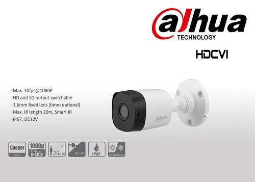 Dahua 2 MP Bullet Camera DH-HAC-B1A21P