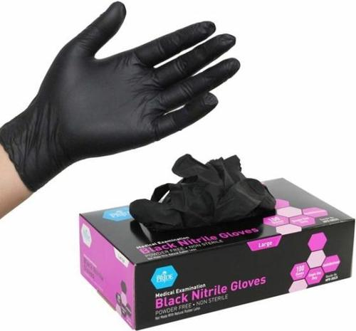 Disposable Black Latex Gloves for Home Cleaning Nitrile Gloves Food/Rubber/Garden Universal Glove Wi
