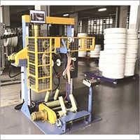 Automatic Pipe Coil Wrapper Machine