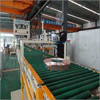 Automatic Horizontal Coil Wrapping Line
