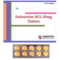Duloxetine HCL 20mg Tablets