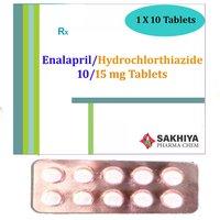 Enalapril Maleate 10mg + Hydorchlorthiazide 15mg Tablets