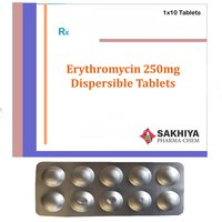 Erythromycin Dispersible 250mg Tablets