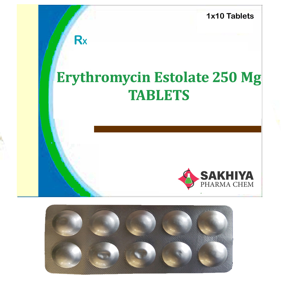 Erythromycin Estolate 250mg Tablets
