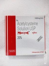 MUCYST 1000MG/5ML
