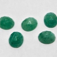 9x11mm Amazonite Rose Cut Oval Loose Gemstones